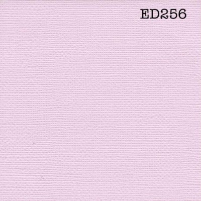 Cardstock texturé canvas - Coloris Rose grisé