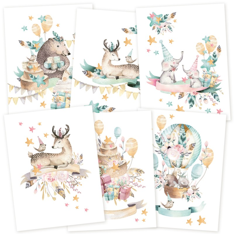 3 Mini posters Piatek 13 - Cute & Co