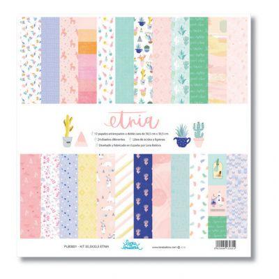 Pack de papiers 30x30 - Lora Bailora - Etnia