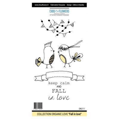 Tampons Chou & Flowers - Organic Love - Fall in Love