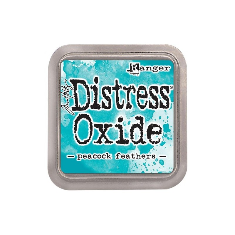 Encreur Distress Oxide - Peacock Feathers
