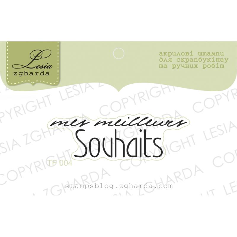 Tampon transparent Lesia Zgharda - Mes Meilleurs Souhaits