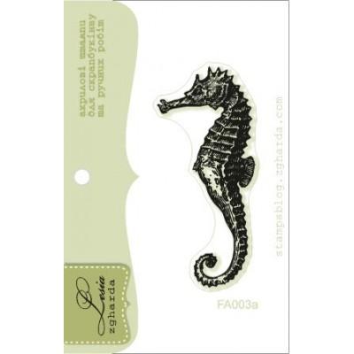 Tampon transparent Lesia Zgharda - Seahorse Big