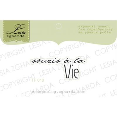 Tampon transparent Lesia Zgharda - Souris à la vie