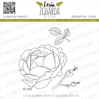 Tampons transparent Lesia Zgharda - Lovely Roses