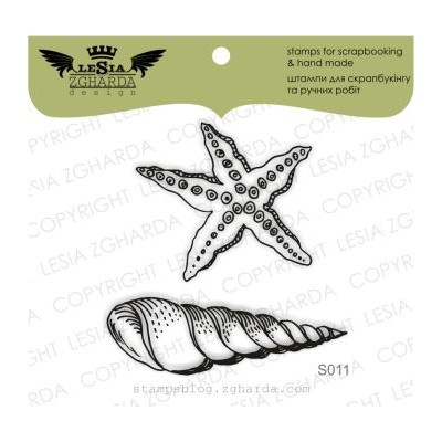 Tampons transparent Lesia Zgharda - Shells