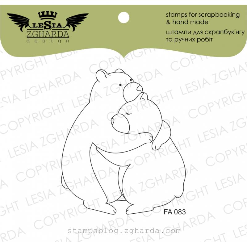 Tampon transparent Lesia Zgharda - Bears