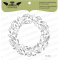 Tampon transparent Lesia Zgharda - Wreath of Feathers