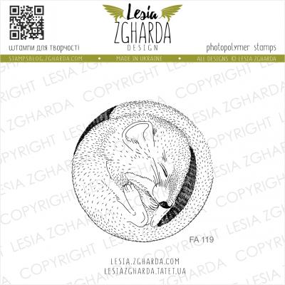 Tampon transparent Lesia Zgharda - Marmot