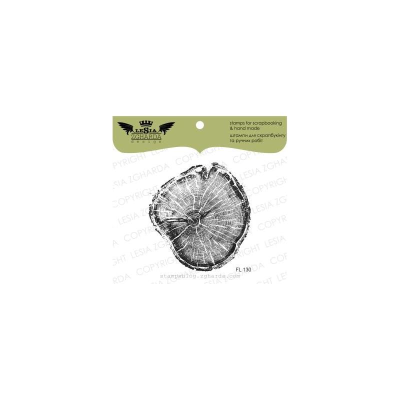 Tampon transparent Lesia Zgharda - The cut wood (larger)