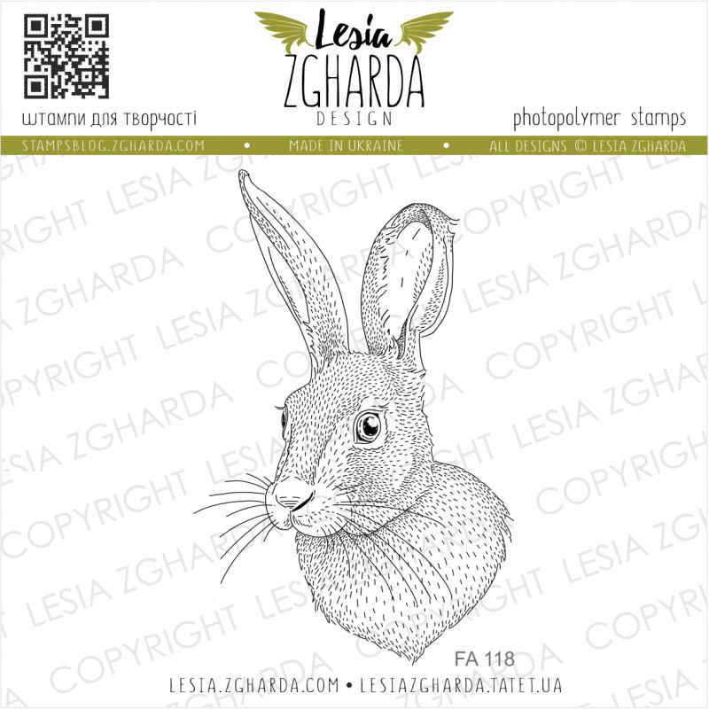 Tampon transparent Lesia Zgharda - Bunny