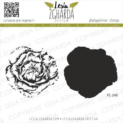 Tampons transparent Lesia Zgharda - Lush Rose