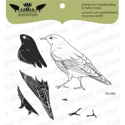Tampons transparents Lesia Zgharda - Bird