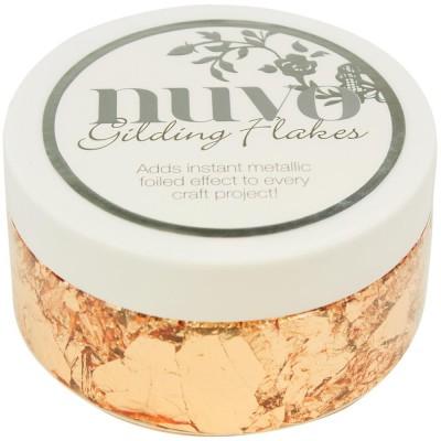 Flocons métallisés - Nuvo Gilding Flakes - Cuivre