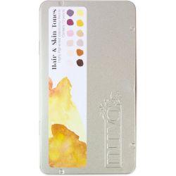 Crayons aquarellables Nuvo - Hair & Skin Tones