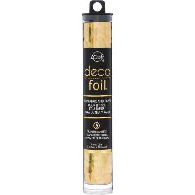 Deco Foil - Feuilles transfert métallisées - Or miroir (Gold Shattered Glass)