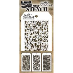 Mini Layered Stencil Tim Holtz - Set 35