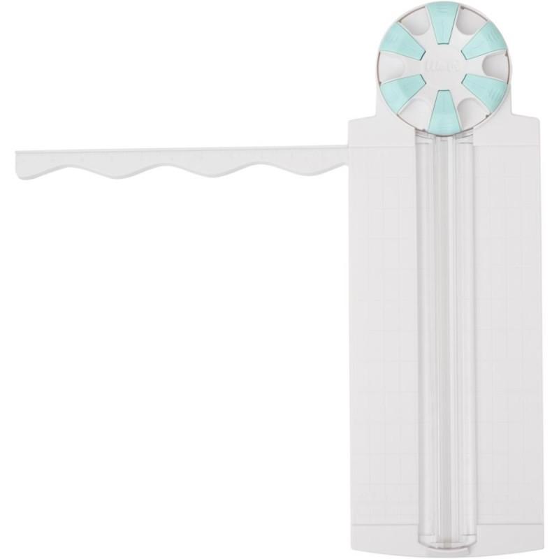 Massicot rotatif avec 6 lames à designs