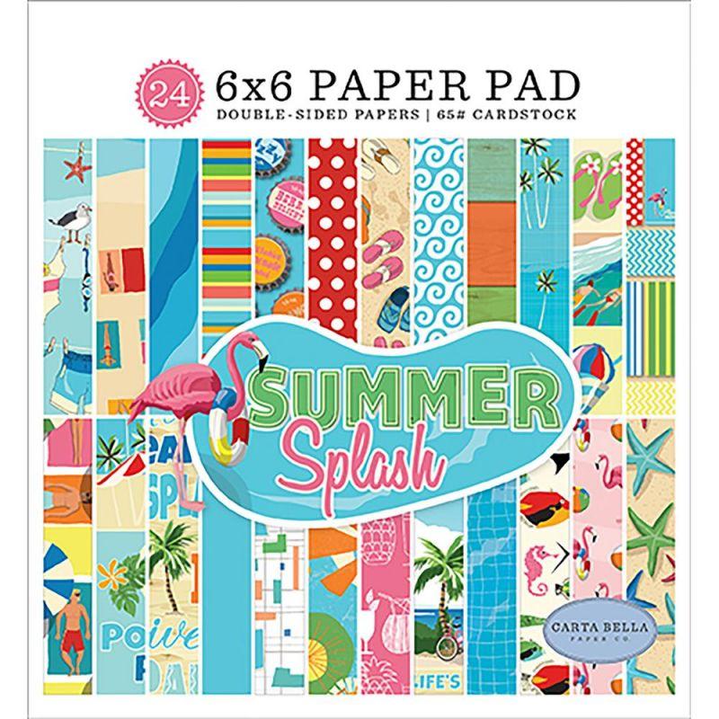 Mini Pack 15x15 - Carta Bella - Summer Splash