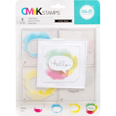Tampons CMYK - Hello
