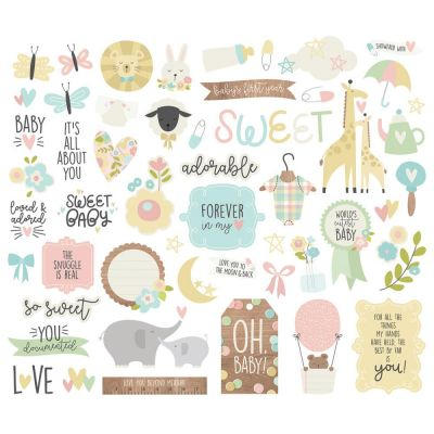 Die Cuts - Bits & Pieces - Oh Baby