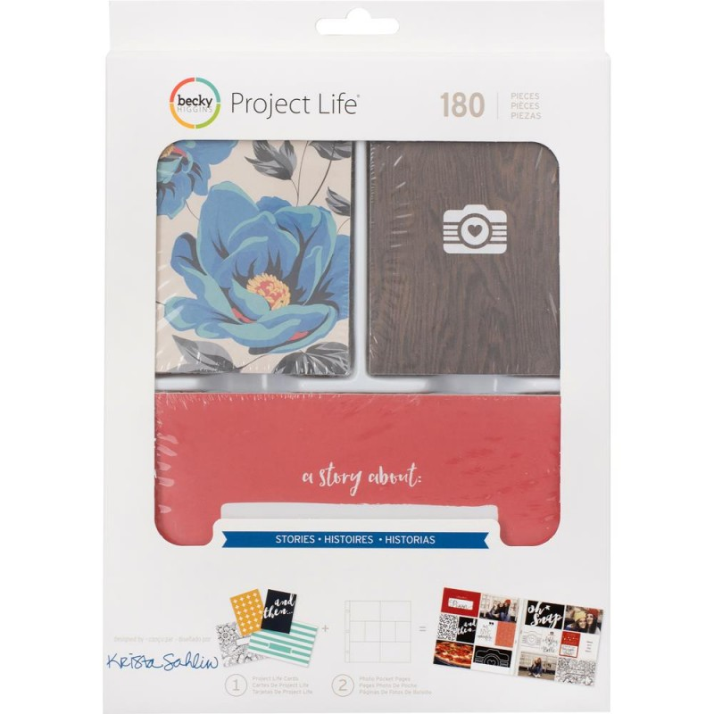 Kit Cartes Project Life - Stories