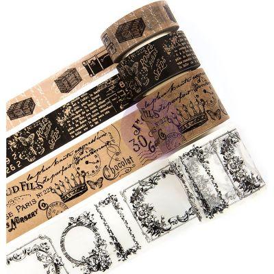 Washi Tape Prima Traveler's - Fancy Letters