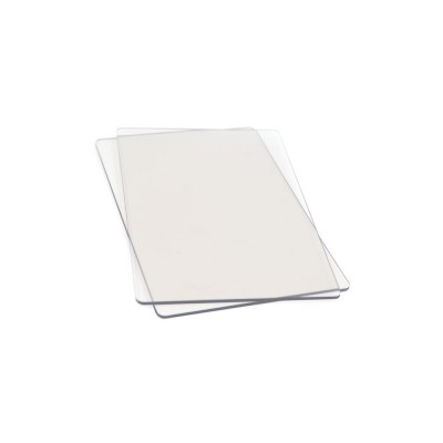 Plaques transparentes Sizzix (x2) Petit Format (Sidekick)