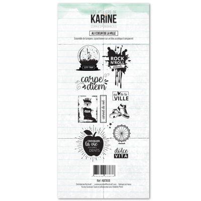 Tampons transparents Les Ateliers de Karine - Au Coeur de la Ville