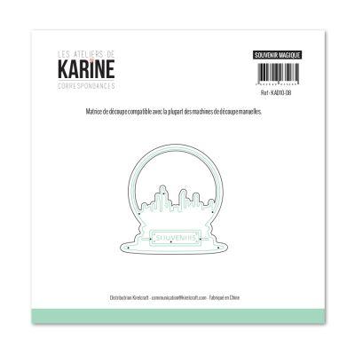 Die Les Ateliers de Karine - Collection Correspondances - Souvenir Magique