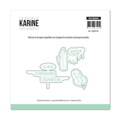 Die Les Ateliers de Karine - Collection Correspondances - Trio Urbain 1