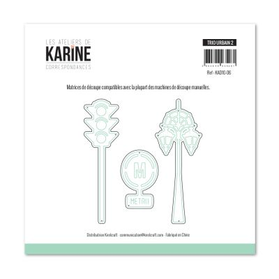 Die Les Ateliers de Karine - Collection Correspondances - Trio Urbain 2