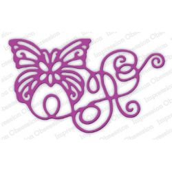 Die Impression Obsession - Ribbon Butterfly