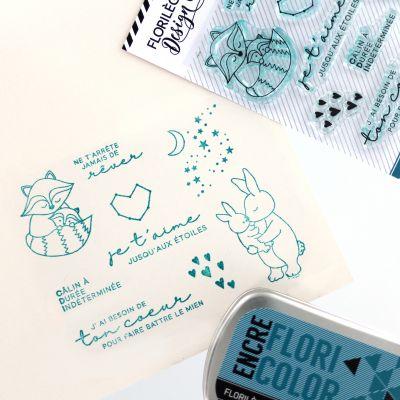 Tampons transparents Florilèges - Capsules 2018 - Jusqu'aux étoiles