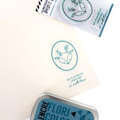 Tampons transparents Florilèges - Capsules 2018 - Ma plus belle création