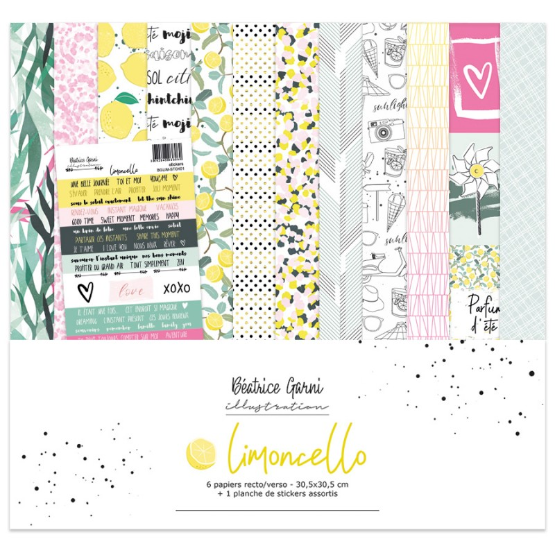 Pack 30x30 - Béatrice Garni Illustration - Limoncello