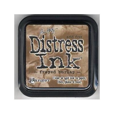 Encreur Distress Frayed Burlap