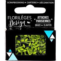 Mini Brads - Attaches Parisiennes - Florilèges - Céleri