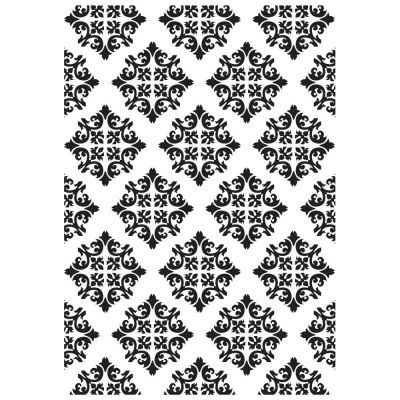 Pochoir de gaufrage KaiserCraft - Diamond Damask