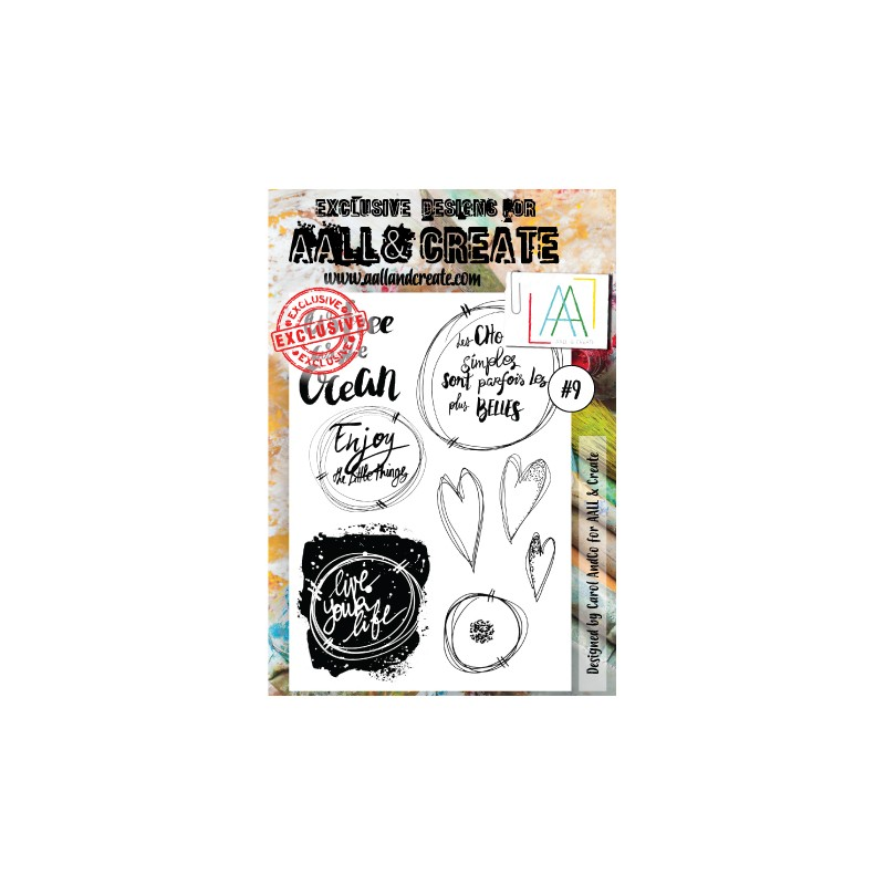 Tampons clear AALL & Create - 009 - les choses simples