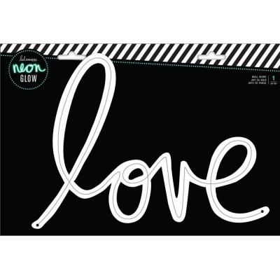 Mot bois Neon Heidi Swapp - Love