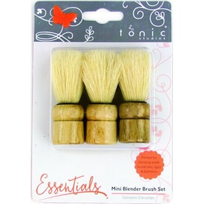 Mini pinceaux de mélange (blending brush) Tonic Studios (x3)
