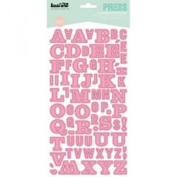 Alphabet Press Kesi'Art - Rose