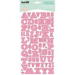 Alphabet Press Kesi'Art - Rose