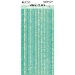 Stickies Recherche Maison N°7