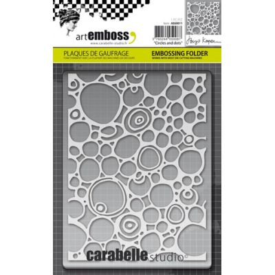 Pochoir de gaufrage Carabelle - Circles and Dots
