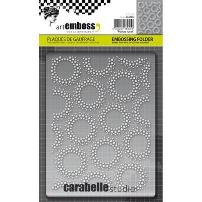 Pochoir de gaufrage Carabelle - Petites roues