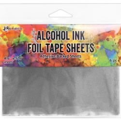 Feuilles adhésives métallisées 11x14 cm (Alcohol Ink Foil Tape Sheets)