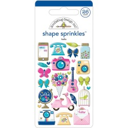 Sprinkles Shape - Hello