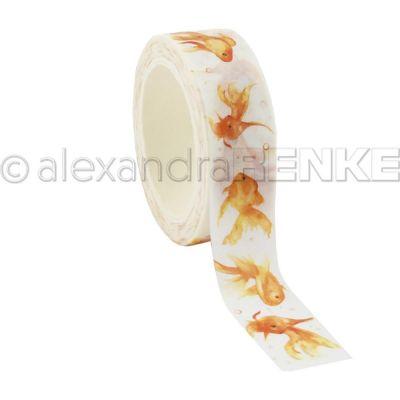 Washi Tape Alexandra Renke - Gold Fishes